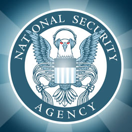 National Security Agency Logo By Electronic Frontier Foundation designer Hugh D'Andrade